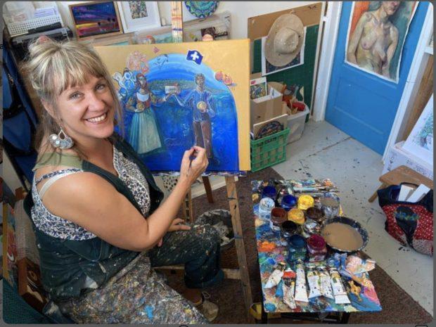 Effie painting