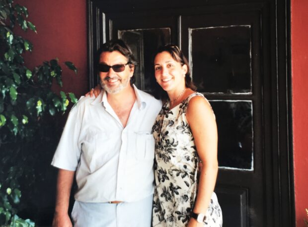 Philip Bouboulis and me 2001 copy